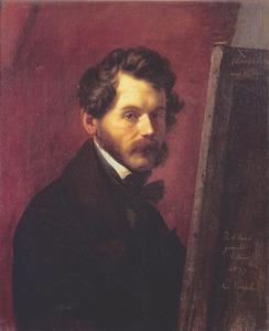 Portret van Friedrich von Amerling