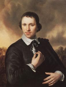 Portret van een man, waarschijnlijk Jan van de Cappelle (1626-1679)