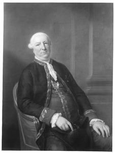 Portret van Jacob Derk Carel van Heeckeren (1730-1795)