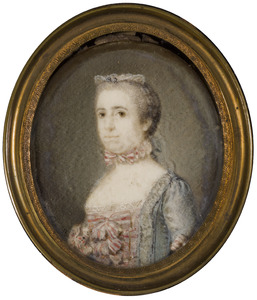 Portret van Mauritia Constantia le Leu de Wilhem (1736-1813)