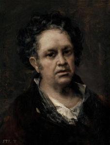 Zeffportret van Francisco José de  Goya y Lucientes (1746-1828)