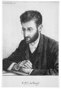 Portret van de architect K.P.C. de Bazel (1869-1923)