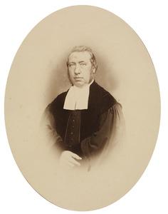 Portret van Johannes Jacobus van Oosterzee (1817-1882)