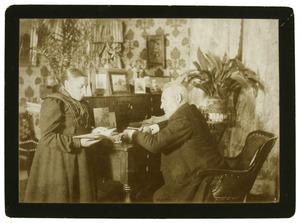 Daniël Johannes Carolus Heldring (1844-1918) en Henriëtte Carolina Elisabeth Heldring (1856-1935)