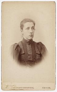 Portret van mej. Jeanne Carolina van Lanschot Hubrecht (1865-1918)