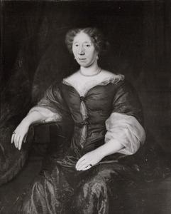 Portret van Geertruyd van der Waeyen (1627- )