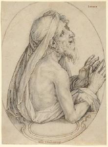 Lazarus, in een ovaal