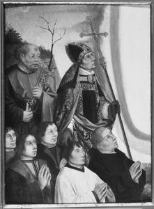 Vijf stichters, de H. Petrus en een heilige bisschop