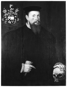 Portret van een man, ten onrechte genaamd Lodewijk Voorne