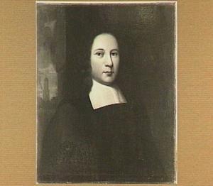 Portret van Hermannus Witsius - Herman Wits (1636-1708), hoogleraar Godgeleerdheid 1680-1698 te Utrecht; voordien hoogleraar te Franeker; nadien hoogleraar te Leiden