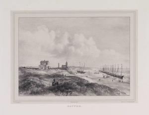 Duinen en strand met gezicht op Katwijk aan Zee