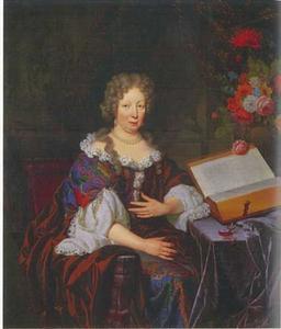 Portret van Debora Blaauw (1629-1702)
