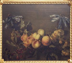Guirlande met vruchten