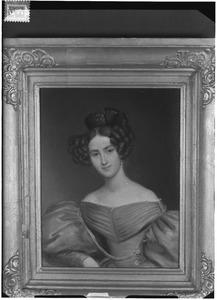 Portret van Charlotte Anna Wilhelmina van Boetzelaer (1808-1886)