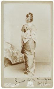 Portret van Louisa Albertina Anna Maria van Breugel Douglas (1862-1922)