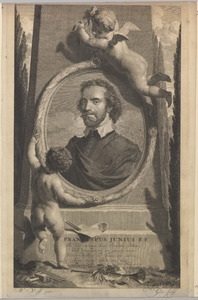 Portret van Franciscus Junius (....-1677)