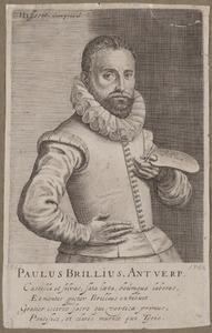 Portret van Paul Bril (1554-1626)