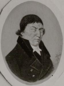 Portret van Johannis Zaaijer ( -1833)
