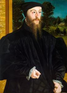Portret van een lid van de familie Fröschl