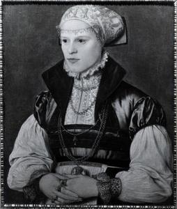 Portret van een vrouw, mogelijk Anna Botzheim
