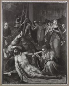 De bewening onder het kruis