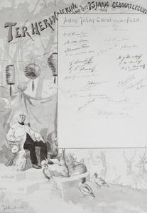 Portret van Antoni Johan Carel van der Feen (1818-1896)