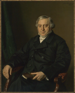 Portret van Johannes Jacobus Bredius (1808-1894)