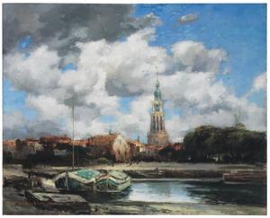 Gezicht op Leiden