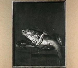 Visstilleven met schelvis en knorhaan