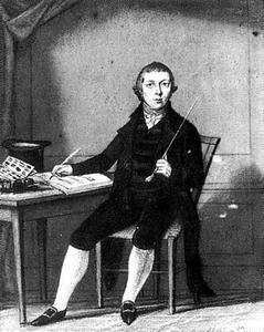 Portret van Barend Andriessen (1782-1850)