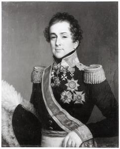 Portret van een man genaamd Willem Frederik graaf van Bylandt (1771-1855)