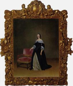 Portret van Geertruid .... (1645-1722), echtgenote van Willem Marienburg (1634-1711)