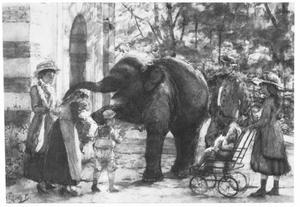 In de dierentuin