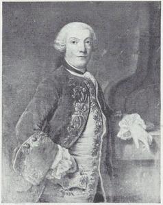 Portret van een man, genaamd Willem van Haren (1710-1768)