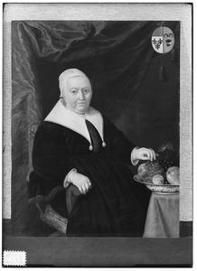 Portret van Griet Jans van Neck (1580-1667)