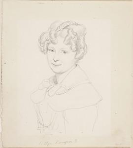 Portret van een een jonge vrouw