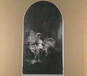 Venus en Cupido in de smidse van Vulcanus