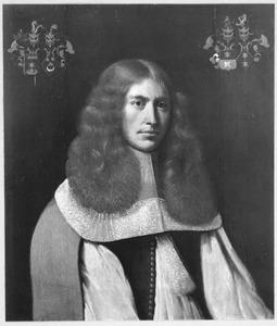 Portret van Tjallingh Homme van Camstra ( -1719)