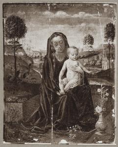 Marie met kind