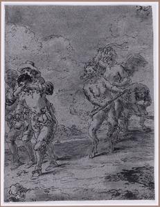 Herbergiers door duivels voortgedreven (Suenos 1641, boek III, zesde droom)
