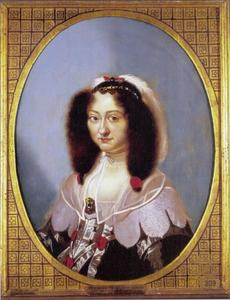 Portret van Magdalena Sibylla van Saksen (1617-1668)
