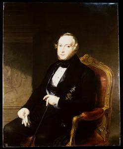 Portret van Eduard Sirtema van Grovestins (1797-1871)