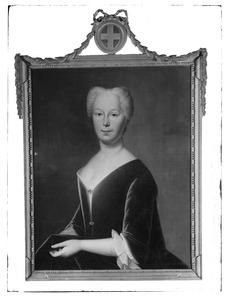 Portret van Margriet van Lynden (.... -1761)
