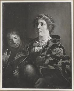 Portret van de Oud-Testamentaire heldin Judith