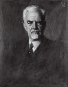 Portret van Anton von Eiselsberg (1860-1939)