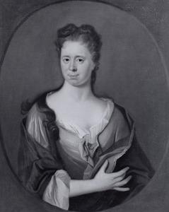 Portret van Christine Elisabeth Scheffer (1692-1761/1768)