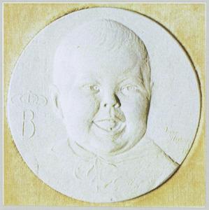 Portret van koningin Beatrix als kind (1938- )