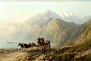 Rit door een berglandschap in noord-Italië