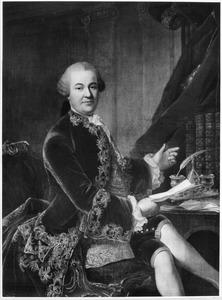 Portret van Bertram Philip Sigismund Albrecht van Gronsfeld Diepenbroeck tot Impel (1715-1772)
