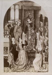 De koningin van Seba stelt Salomo op de proef met raadselen (I Koningen 10:1)